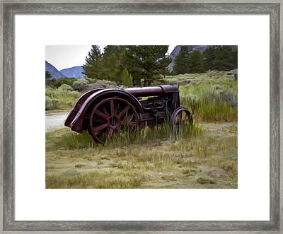 Forgotten Framed Print by David Kehrli