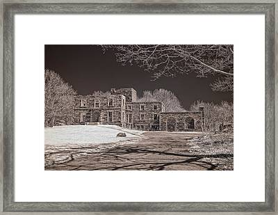 Forgotten Fort Williams Framed Print by Joann Vitali