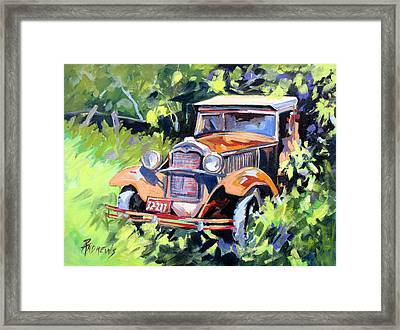 Forgotten Good Times Framed Print by Rae Andrews
