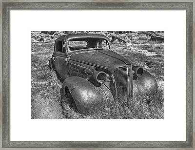 Forgotten Legacy Framed Print by Jon Glaser