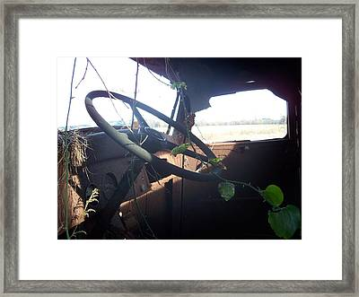 Forgotten Framed Print by Preston Gregory