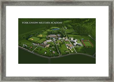 Fork Union Military Academy Framed Print by Rhett and Sherry  Erb