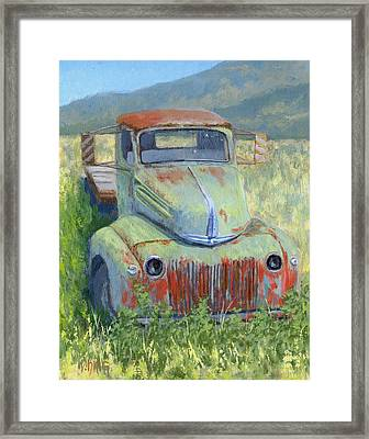Forlorn Ford Framed Print by David King