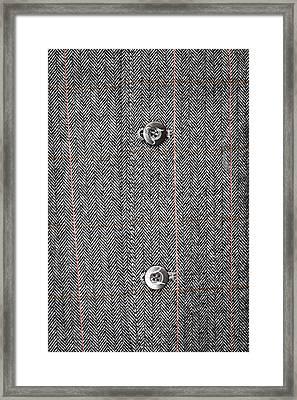 Formal Jacket Framed Print by Tom Gowanlock