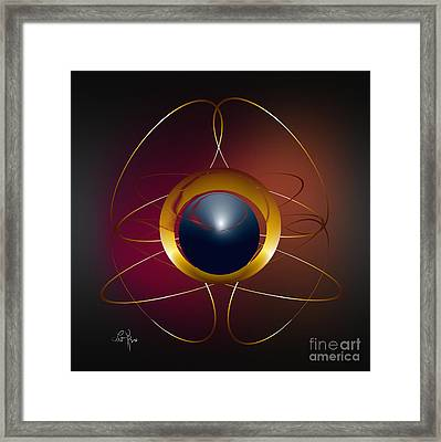 Forms Of Light Framed Print by Leo Symon