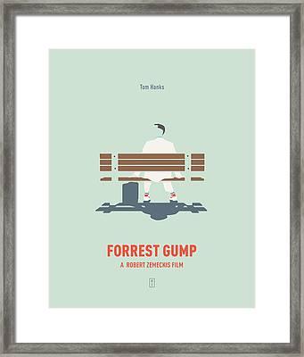Forrest Gump Framed Print by Smile In The Mind