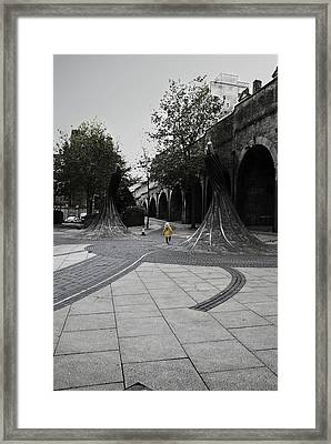 Forster Square Framed Print by Riley Handforth