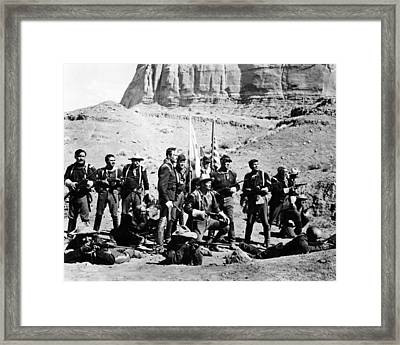 Fort Apache  Framed Print by Silver Screen