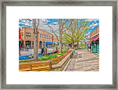 Fort Collins Framed Print by Baywest Imaging