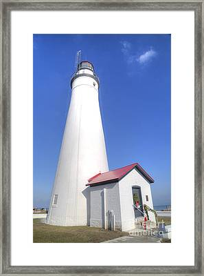 Fort Gratiot Lighthouse Framed Print by Twenty Two North Photography