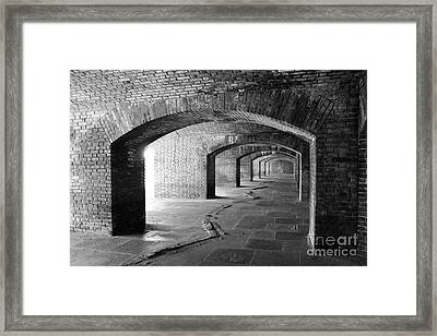 Fort Jefferson Framed Print by Alison Tomich