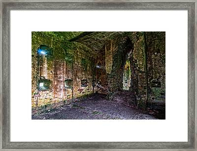 Fort Macomb Barracks Framed Print by Andy Crawford