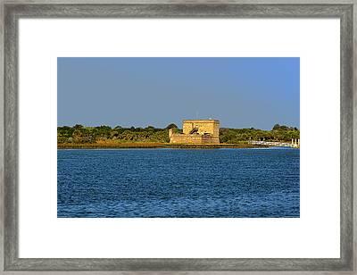 Fort Matanzas - Saint Augustine Florida Framed Print by Christine Till