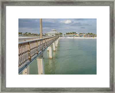 Fort Myers Beach Framed Print by Kim Hojnacki