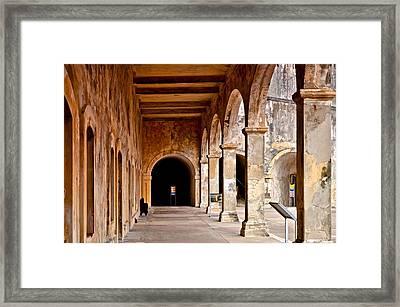 Fort San Cristobal 5 Framed Print by Ricardo J Ruiz de Porras