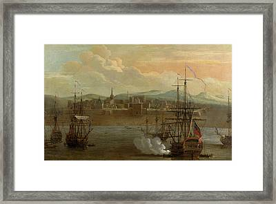 Fort St George In Madras Framed Print by British Library