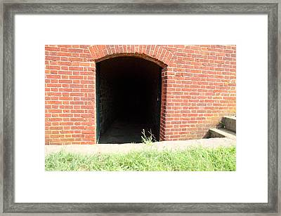 Fort Washington Park - 121240 Framed Print by DC Photographer