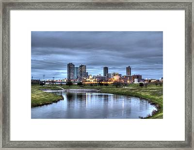 Fort Worth Color Framed Print by Jonathan Davison