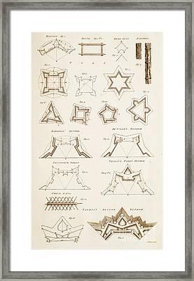 Fortification Methods Framed Print by David Parker