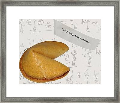 Fortune 1 Framed Print by Cheryl Young