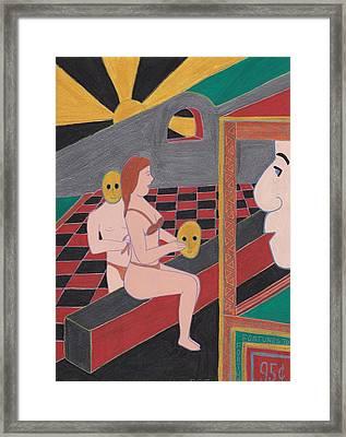 Fortune Teller Framed Print by Barbara St Jean