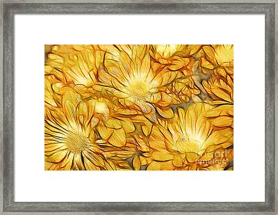 Foulee De Petales - Tuy33b Framed Print by Variance Collections