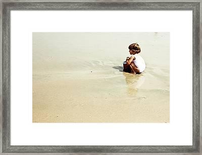 Found In The Sea Framed Print by Alejandra Pinango