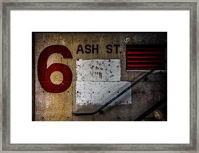 Foundation Number Nineteen Framed Print by Bob Orsillo