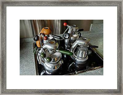 Four Ages Of Atomic Framed Print by Frank Kletschkus
