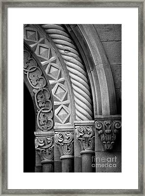 Four Arches Framed Print by Inge Johnsson