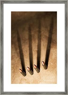 Four Framed Print by Jaroslaw Blaminsky