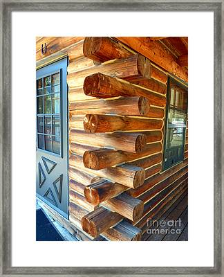 Foursquare Framed Print by Lauren Leigh Hunter Fine Art Photography