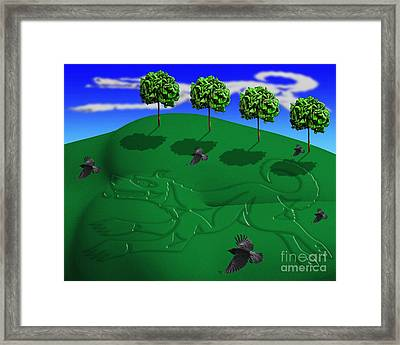 Fox Mound Framed Print by Keith Dillon