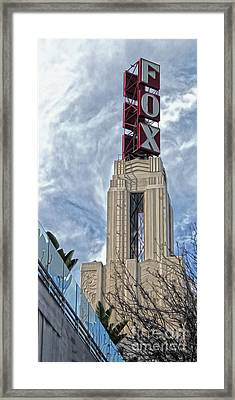 Fox Theater - Pomona - 01 Framed Print by Gregory Dyer