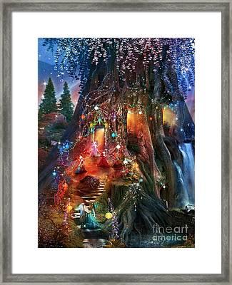 Foxglove Ball Framed Print by Aimee Stewart
