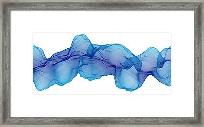 Fractal Cylinder 1 Framed Print by Dan Gries