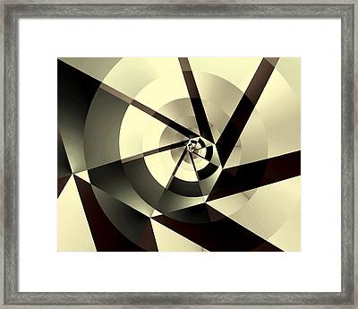 Fracture Framed Print by Kevin Trow