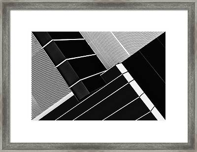 Fragile Symmetry Framed Print by Paulo Abrantes