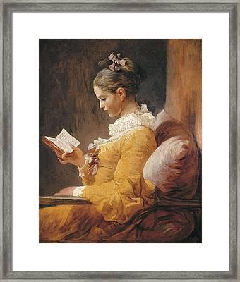 Fragonard, Jean Honor� 1732-1806. A Framed Print by Everett