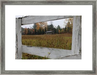 Framed Framed Print by Sheryl Burns