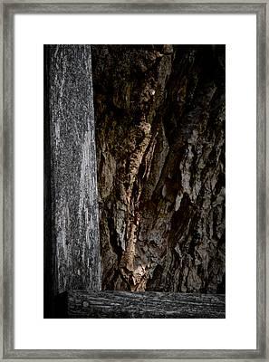Framing An Abstract Framed Print by Odd Jeppesen