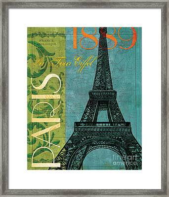 Francaise 1 Framed Print by Debbie DeWitt