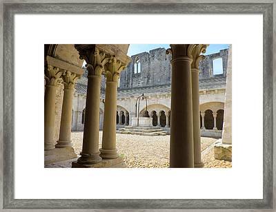 France, Arles, Abbey Of Saint Peter Framed Print by Emily Wilson