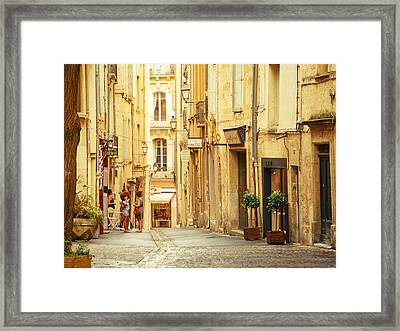 France - Montpellier - Europe Framed Print by Vivienne Gucwa