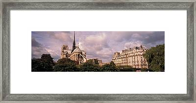 France, Paris, Notre Dame Framed Print by Panoramic Images