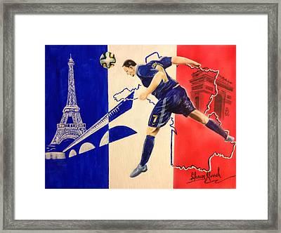 France Framed Print by Shawn Morrel