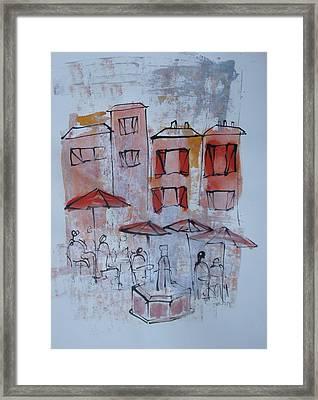 France Framed Print by Sonja  Zeltner