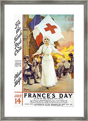 France's Day Framed Print by Anonymous