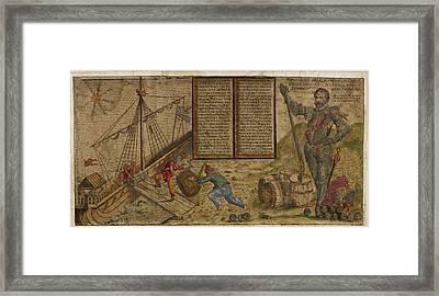 Francis Drake Framed Print by British Library