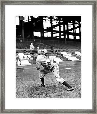 Francis J. Frank Hoerst Framed Print by Retro Images Archive